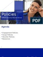 Planning Services Policy - Microsoft
