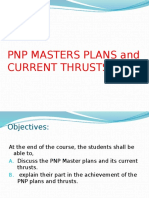 PNP MASTERS PLANS and CURRENT THRUSTS 2015.pptx