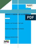 UNIDAD 2 DISEÑOS DE ALGORITMOS FUN. DE PROGRAMACION.docx