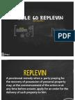Replevin Report Copy 2