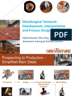 Metallurgical Testwork Interpretation and Process Design