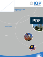 IGP 2013 - Malaysia Social Security and Private Employee Benefits
