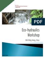 2016 04 28 a Eco Hydraulics Workshop