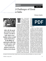 7. Initiatives and Challenges of Good