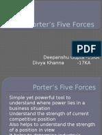 Assingment 11 Porter's 5 Forces