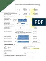 Anchor Bolt Calculation