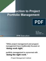 Portfolio Management Introduction