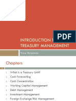 introduction to treasury management