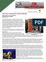 robotics featured articles -robotic industries association - robotics online