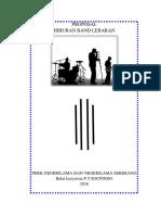 Proposal Hiburan Band Lebaran