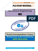 Refrigeration Air Conditioning Mechanical GATE IES PSU Study Material