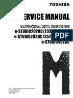 Toshiba 2330 Service manual