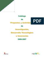 Catalogo Proyectos ITACYL 06 07