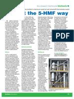 Biofuels International 5-HMF Article