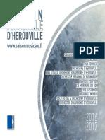 Saison Musicale d'Hérouville 2016-2017