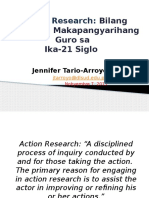 Action Research Nob 7 2015