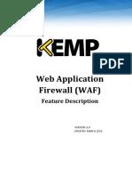 Feature Description-KEMP Web Application Firewall