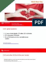 Presentation of Alice Grainger Gasser of World Heart Federation, in World Heart Day 2016 Webinar