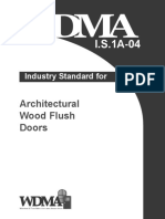 Tollerance for Doors Wdma i.s. 1a