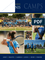 Jonathan Markson Tennis Camp Brochure
