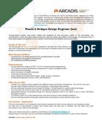 ARCADIS - Roads Bridges Design Engineer