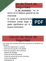 Calculo de Stock de Seguridad para incremento de de servicio al cliente y rentabilidad de la Empresa.pptx