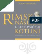 Sonja Stamenković - Rimsko nasleđe u Leskovačkoj kotlini.pdf