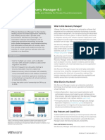 VMware Site Recovery Manager Data Sheet