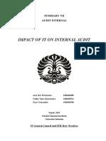 Chapter 20 Audit Internal Impact of IT on Audit Internal