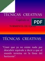Técnicas creativas