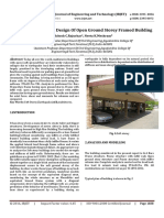 Earthquake Resistant Design Of Open Ground Storey Framed Building