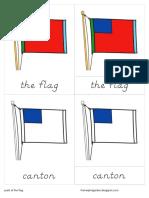 Parts of the Flag Nomenclature - D'Nealian