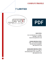 1 - Company_Profile - Servo IT Limited