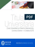 Curso Universitario en Derecho Internacional y Comercio Exterior + 4 Créditos ECTS