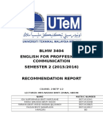 Cnc Recommendation Report Epc