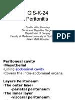 GIS K 24 Peritonitis