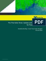 DFDL Breakfast Seminar Thai Solar and Gvt and AC Pgm Presentation 280616 FINAL