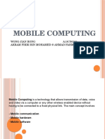 Assignment #2 Mobile Computing