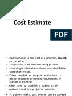 Cost Estimate2