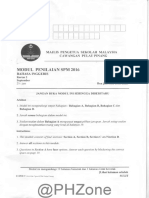 2016 Percubaan SPM Pulau Pinang Bahasa Inggeris Kertas 2