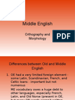 difference between old and middle english