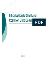 Intro Shell Common Unix 2015
