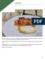 Thermorecetas.com-Migas Con Anís y Huevo Frito