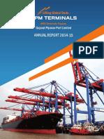Annual Report 2014-15 - GPPL