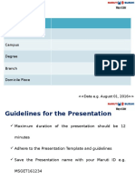 Maruti Presentation Template_2016
