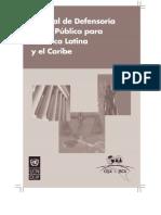 Manual de Defensoría Penal Pública para América Latina y el Caribe