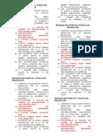 Requisitos Para El Titulo de Bachiller