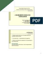 DBC - Delineamento em blocos casualizados