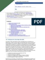 Hojas de Estilo en Documentos HTML