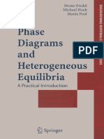 Phase Diagrams and Heterogeneous Equilibria Predel